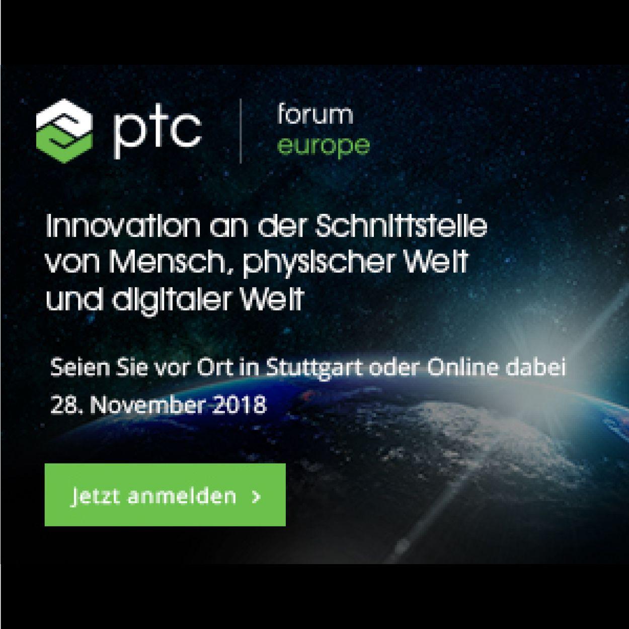 PTC Forum Europe
