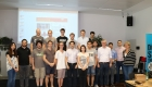 Our students at FH Vienna at the kick-off event