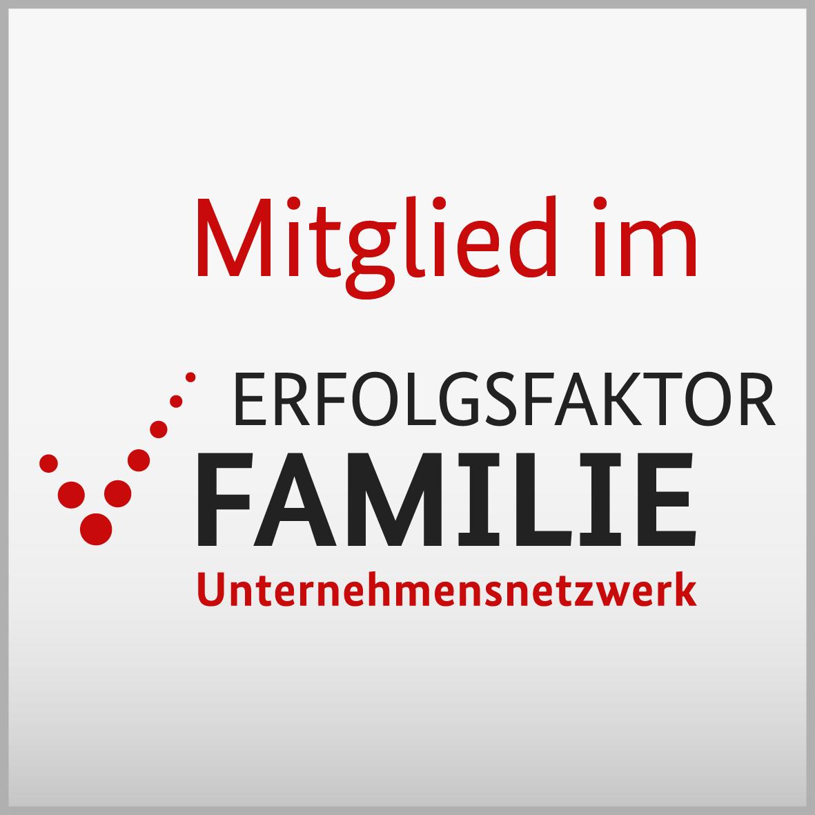 SF ist Mitglied bei Erfolgsfaktor Familie