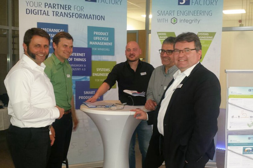 SF Stand auf dem Inneo T-Day am 18.April 2018 in Lindau