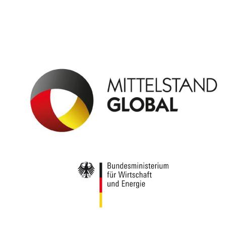 Logo BMWi und Mittelstand Globa